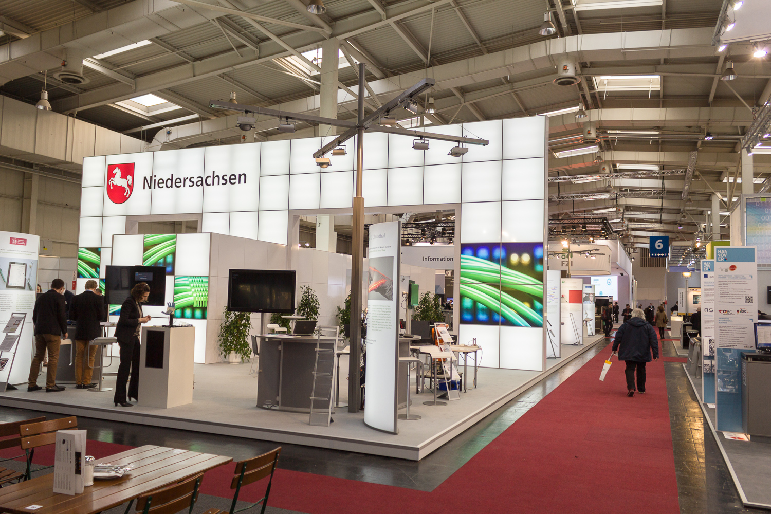 Joint stand of the state Lower Saxony at Cebit 2016